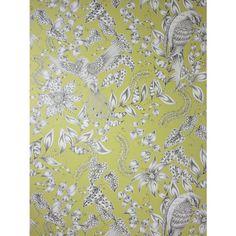 Buy Osborne & Little Kayyam Wallpaper, Chartreuse / Grey, W6495-01 Online at johnlewis.com
