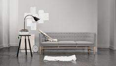 Mayor sofa   design Arne Jacobsen   &Tradition
