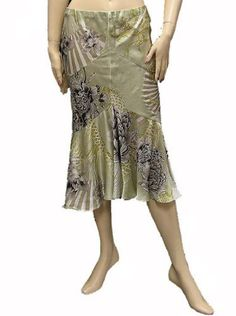 Roberto Cavalli Womens Skirt Green Silk, 40, Green Roberto Cavalli,http://www.amazon.com/dp/B007CLJA3S/ref=cm_sw_r_pi_dp_h3B0qb17YJTM19E6
