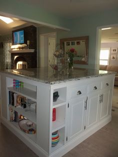 Kitchen / Main Room Renovation update - DIY Kitchen Island Pictures