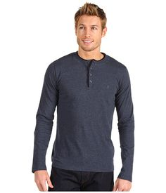 French Connection Contrast Sneezy L/S Henley