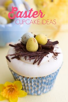 Easter Cupcake Ideas - Spaceships and Laser Beams