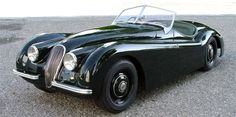 I will always have a very soft spot for Jags. XK 120, the car that made Jaguar famous.