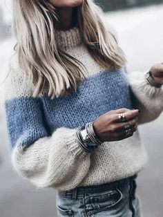 Autumn Winter Women Sweaters And Pullovers Korean Style Long Sleeve Casual Sweater Slim Turtleneck Knitted Jumpers Sweter Mujer-in Pullovers from Women's Clothing on AliExpress - Day Warm Sweaters, Pullover Sweaters, Hand Knitted Sweaters, Pull Mohair, Pullover Outfit, Winter Fashion Casual, Mohair Sweater, Turtleneck Dress, Mode Outfits