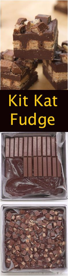 Kit Kat Fudge (Party Top Desserts)