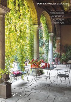 cote sud magazine playhouse outdoor outdoor rooms outdoor retreat outdoor dining outdoor