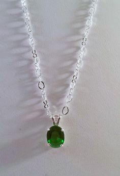 Genuine Green Topaz - Jewelry creation by K. Green Topaz, Emerald Green, Topaz Jewelry, Affordable Jewelry, Green Colors, Fashion Accessories, Jewelry Making, Pendant Necklace, Jewels