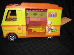 Retro Barbie camper. I played for hours with this when I was younger. by lottie