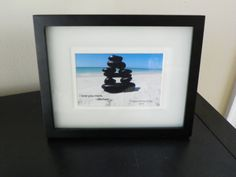 Personalized Mother's Day Print of Stones by ThreeStackedStones