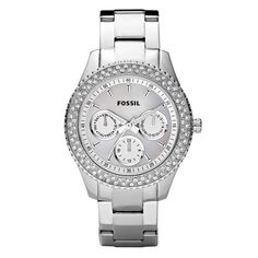 Fossil Ladies Stella Silver Watch-bought it today & love it!!!! Almost went with the rose gold, but u wear so much more silver!