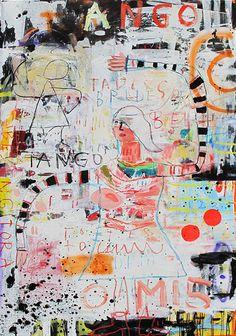 """TANGO"" Troy Henriksen #galeriew #contemporaryart #artgallery"