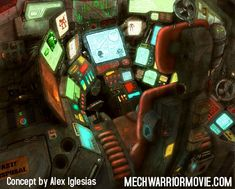 Meck cockpit