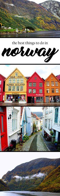 Norway #PlacesToVisit #Travel @English4Matura