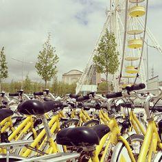 yelo - yellow public bikes to explore the city via @Nic Hildebrandt {luzia pimpinella}