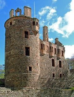 HUNTLY CASTLE - SIR JOHN GORDON 2nd Laird of Pitlurg 1517-1547 son of ROBERT GORDON and JEAN or JANE STEWART.  He married JANET OGILVIE.  John died at the BATTLE OF PINCKIE in 1547.  He left a son SIR JOHN 3rd Laird of Pitlurg. John and Janet are my 11th G GRANDPARENTS.