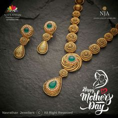 Made By Hand Online - Jewellery Pearl Necklace Designs, Gold Earrings Designs, Antique Jewellery Designs, Gold Jewellery Design, Gold Mangalsutra Designs, Diamond Mangalsutra, Gold Jewelry Simple, India, Appreciation