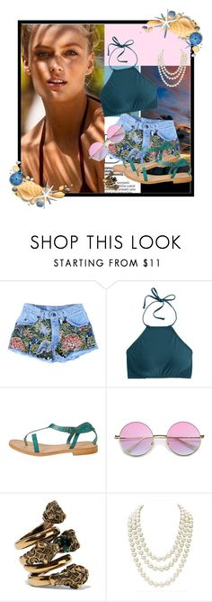 """""""Beach Girl"""" by norse-goddess ❤ liked on Polyvore featuring J.Crew, Cocobelle, Gucci and Chanel"""