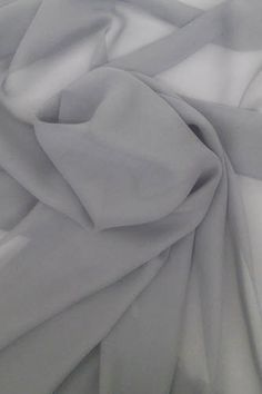 Gray Chiffon Bolt of Fabric, 10 Yards We sell high-quality chiffon fabric at excellent wholesale discounts by the bolt and by the roll. This is