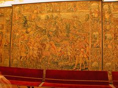 Tapiz de la Sala Capitular de la Catedral de Santiago de Compostela (Spain).