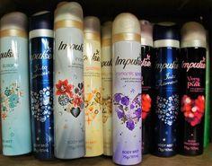 Impulse deodorant in every scent.