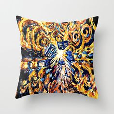 """big exploded tardis doctor who Decorative cushion Pillow Case 20"""", US $18.89"""