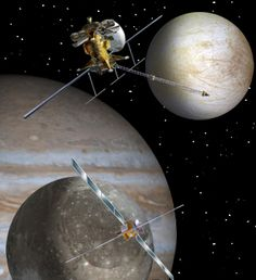 The Europa Jupiter System Mission – Laplace (EJSM/Laplace) was a proposed joint NASA/ESA unmanned space mission slated to launch around 2020 for the in-depth exploration of Jupiter's moons with a focus on Europa, Ganymede and Jupiter's magnetosphere. The mission would comprise at least two independent elements, NASA's Jupiter Europa Orbiter (JEO) and ESA's Jupiter Ganymede Orbiter (JGO), to perform coordinated studies of the Jovian system