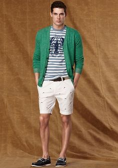 When preppy meets nautical, you've got a perfect look for summer.