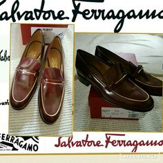 HP NIB Salvatore Ferragamo Glove kids slip on 10 Brand new in box and not even worn in house period comes with dust bag. Price firm Salvatore Ferragamo Shoes Flats & Loafers