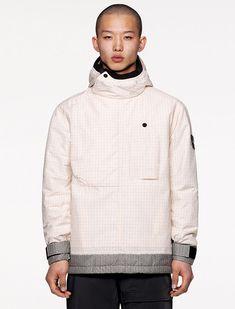 Hooded Jacket, Bomber Jacket, Split Design, Stone Island, Shearling Jacket, Parka, Fall Winter, Autumn, Turtle Neck