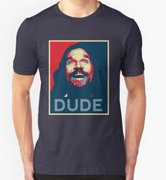 DUDE POSTER - The Big Lebowski - The Dude - Cult Movie - PopCulture - #Tshirt