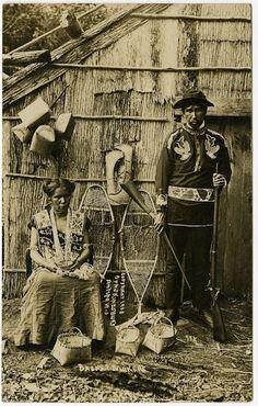 Ojibwa couple – 1908