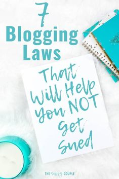 This is definitely the comprehensive guide I needed to make sure my blog isn't breaking any laws! Everything you needs to know to make your blog legal and stay out of trouble. I'm so relieved to have found this; I definitely need to pin it to refer back to! #BloggingTips #BloggingAdvice #BloggingLaws #BloggingLegally #Blogging #BlogLaws #BloggingTaxes via @TheSavvyCouple Make Money Blogging, Make Money Online, How To Make Money, Blogging Ideas, Blog Design, Blogging For Beginners, Mom Blogs, Blog Tips, Making Ideas