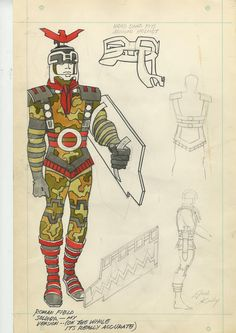 Comic book legend Jack Kirby was responsible for the iconic looks of such famous superheroes as Captain America, Hulk, the X-Men, Thor, and the Fantastic Four. Julius Caesar Costume, Comic Books Art, Comic Art, Famous Superheroes, Jack King, Jack Kirby Art, Steve Ditko, Shakespeare Plays, Character Sketches