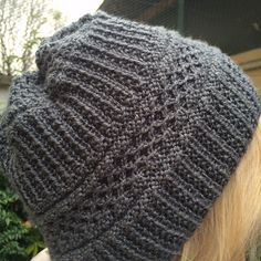 Ravelry: soft texture hat pattern by Marion Crivelli