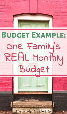 How to Live on $2500 Per Month | Love this example of a real life monthly budget! Maybe they follow Dave Ramsey? Such a helpful example for beginners - love that you can get their spreadsheet / printable. Good tips in here!!! #budget #onabudget #daveramsey #2500permonth #freeprintable #realbudget #budgetexample