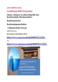 table of contents: Glossar-Definitionen Kaelte Klima Waerme Heizung Lueftung Thermodynamik