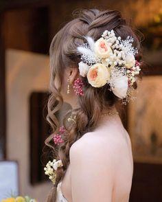 weddinghair bridalhairarrange flower accessory