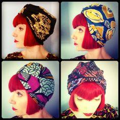 Amber Jane Ankara Wax Turban by AkhuDesigns on Etsy, £12.50