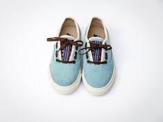 Shoes Azul MOOD #17 Sperrys, Boat Shoes, Espadrilles, Vans, Mood, Sneakers, Fashion, Blue, Espadrilles Outfit