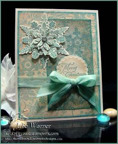 Christmas Snowflake Medallion FS307 by justwritedesigns - Cards and Paper Crafts at Splitcoaststampers