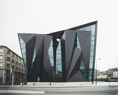 Tornhuset - World Maritime University in Malmö designed by Kim Utzon Architects and Terroir