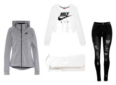 """""""nike"""" by twix-dxciv ❤ liked on Polyvore featuring NIKE"""