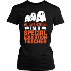 Special Education Teacher - Halloween Ghost
