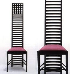Charles Rennie Mackintosh, Hill House Chair 1, 1903