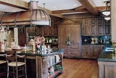 This Paneled Refrigerator Is Awesome It Looks Like A Armoire I Want White Cabinets With Dark Stained Fridge One
