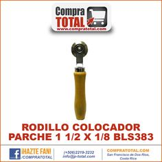 #CompraTotal - #HerramientaManualCostaRica RODILLO COLOCADOR PARCHE 1 1/2 X 1/8 BLS383