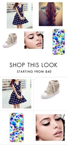"""""""Sem título #57"""" by dudinha06 on Polyvore featuring moda, migunstyle, DKNY, Casetify e Maybelline"""
