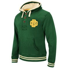 Green Bay Packers Green Mitchell & Ness Time Out Pullover Hooded Sweatshirt = DOPE
