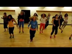 """Yeah x3"" Dance Fitness with Medora  Subscribe to her youtube and she has lots of good zumba moves"
