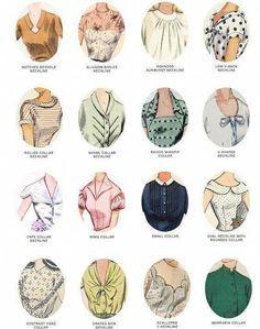 Guide to vintage collars for women Source by Fashion Terms, Boy Fashion, Dress Fashion, Modern Fashion, Fashion Outfits, Fashion Sewing, Dress Outfits, Fashion Shoes, Fashion Design Drawings